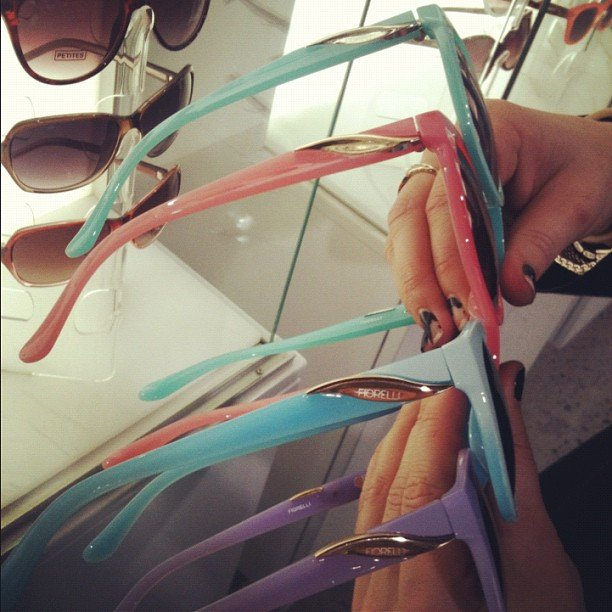 Ali tried some Summer-ready sorbet shades from Fiorelli.