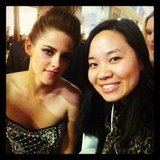 Pop ed Jess MET KRISTEN STEWART at the Snow White and the Huntsman premiere.