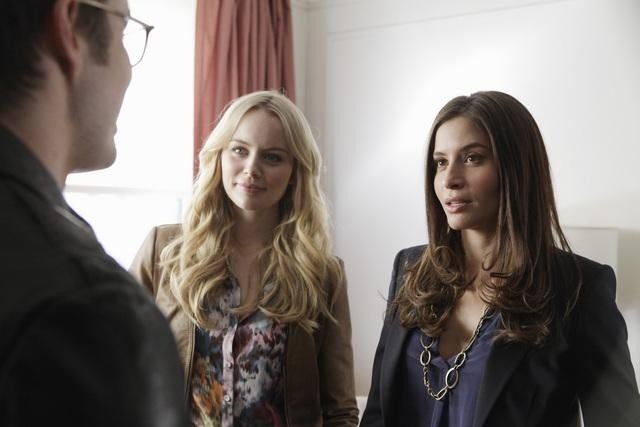 Helena Mattson and Mercedes Masohn on 666 Park Avenue. Photo copyright 2012 ABC, Inc.