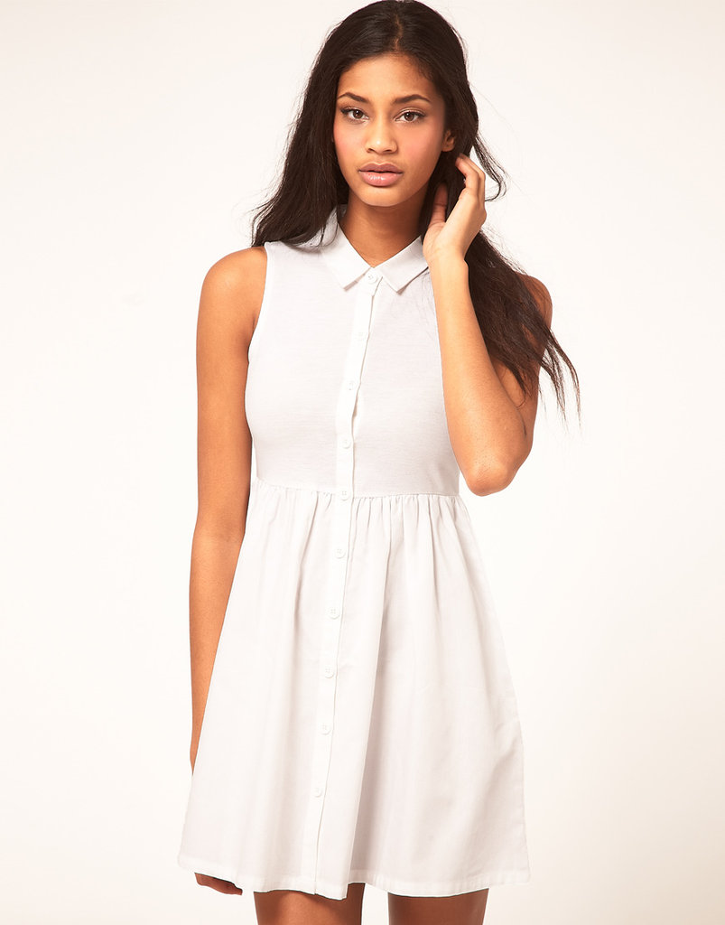 This LWD is begging to be worn with your coolest laid-back kicks and a straw fedora.  Vero Moda Skater Dress in Tennis Style  ($29)