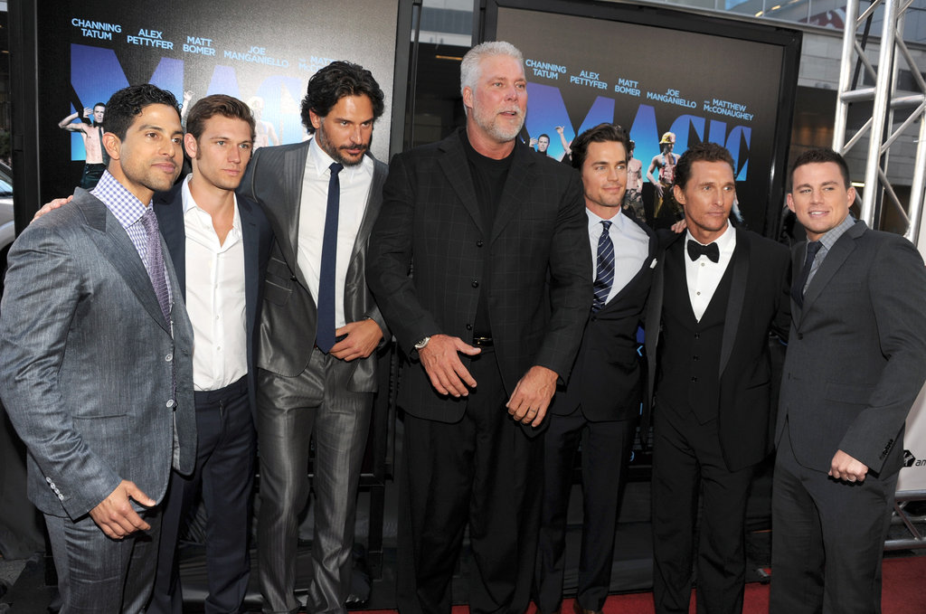 The Hot Men of Magic Mike Suit Up For the LA Premiere