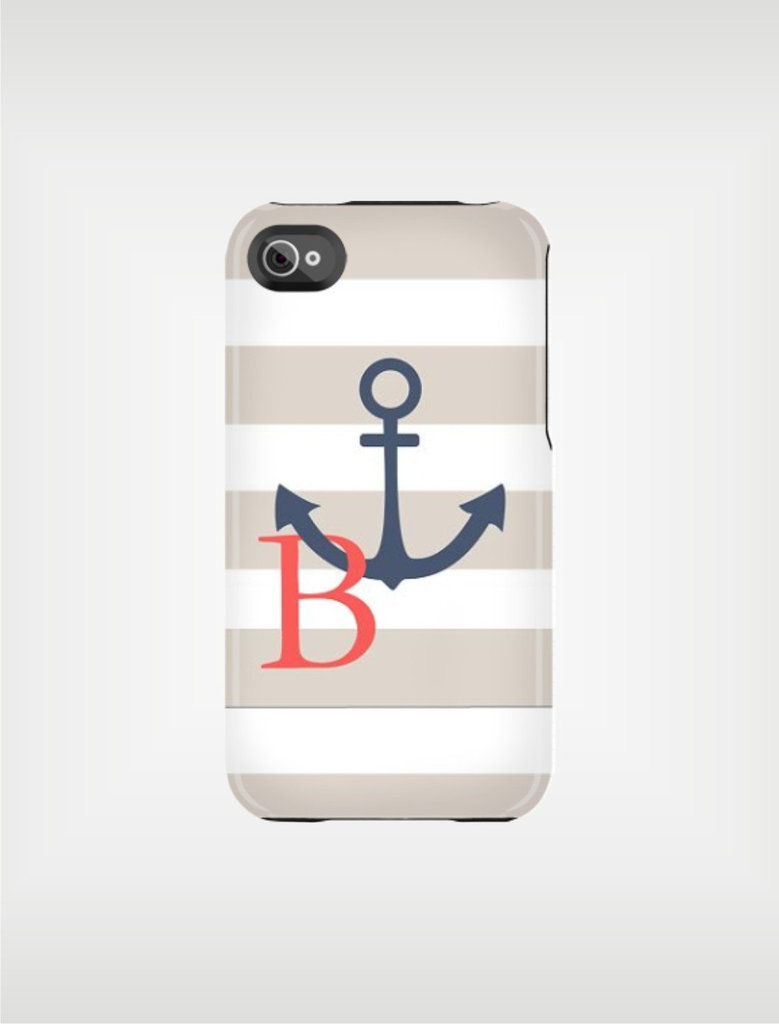 Striped Anchor Case ($48)