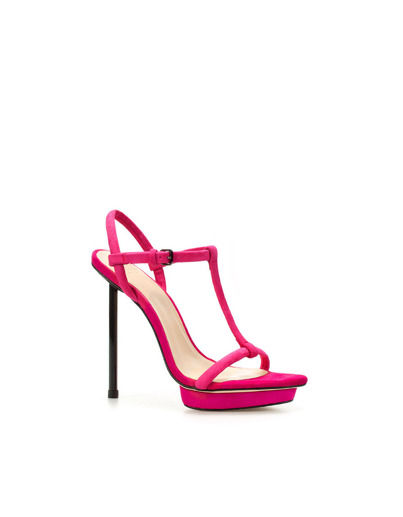 Zara Must-Have Item: Sandal With Contrasting Straps ($100)