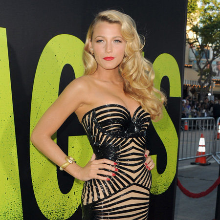 Savages LA Premiere Celebrity Pictures: Blake Lively, Salma Hayek, John Travolta