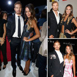 Sharni Vinson and Kellan Lutz Take Their Romance to the Front Row in Milan