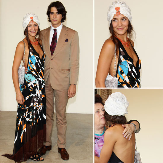 Snoop Newly Wed Margherita Missoni's Fashion Week Oufit From All Angles!