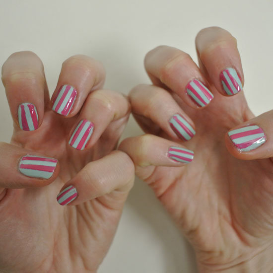 DIY Sticky Tape Manicure Using Nail Polish and Tape. Previous 1 / 10 Next