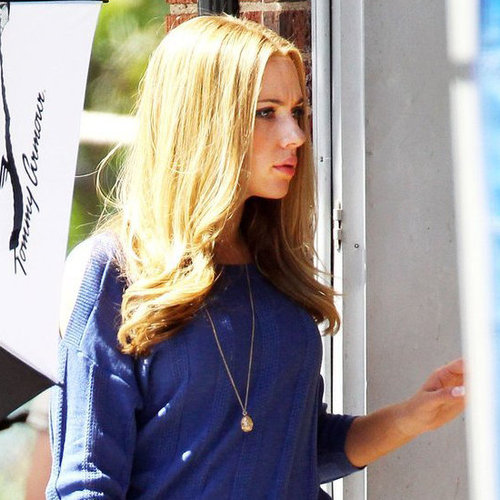 Scarlett Johansson Don Jon's Addiction Set Pictures
