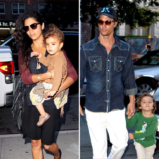Matthew McConaughey Brings His Whole Family to the Big Apple For Magic Mike Press