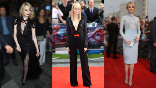 "From Tokyo to Rome — See All of Emma Stone's ""Amazing"" Spider-Man Premiere Looks!"