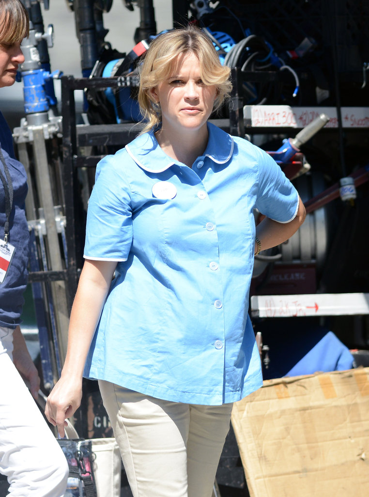 Pregnant Reese Witherspoon was on the set of Devil's Knot in Georgia.