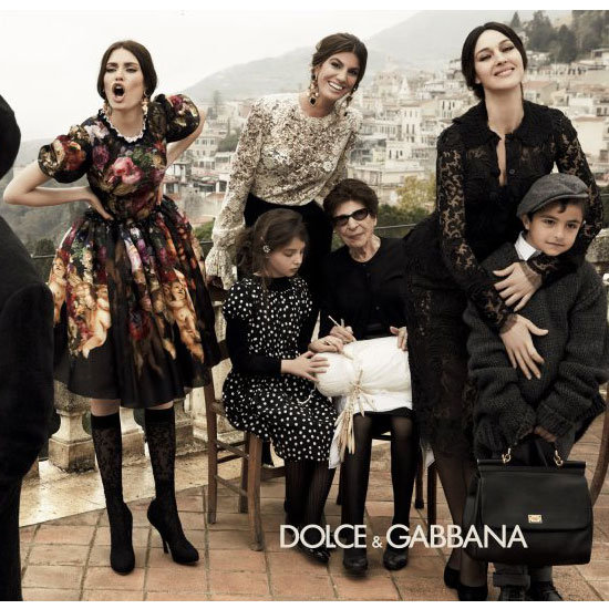 My Big Fat Italian Campaign: Snoop Dolce & Gabbana's Molto Bella A/W Shoot