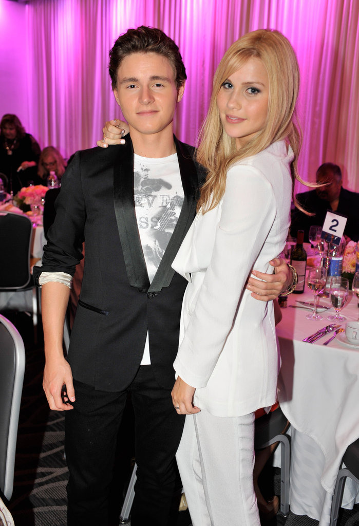 Callan McAuliffe and Claire Holt