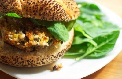vegetable burger recipe