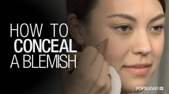 How to Conceal a Blemish With Flawless Results
