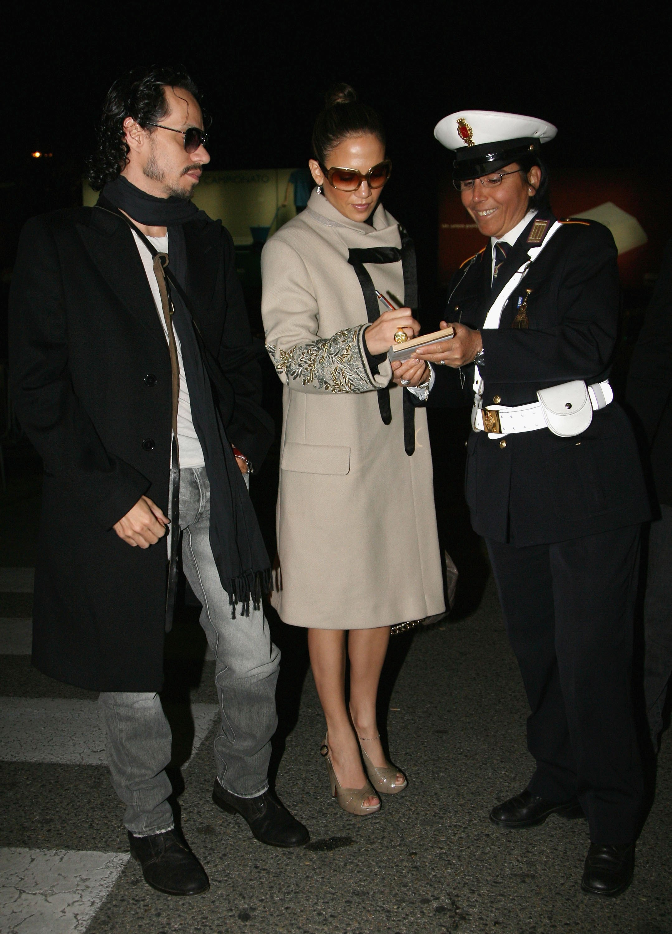 Jennifer Lopez And Marc Anthony Attended The Nuptials