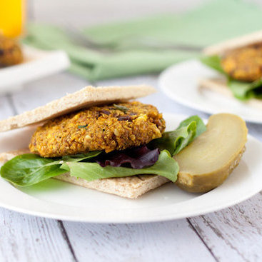 Curry Quinoa Burger Recipe