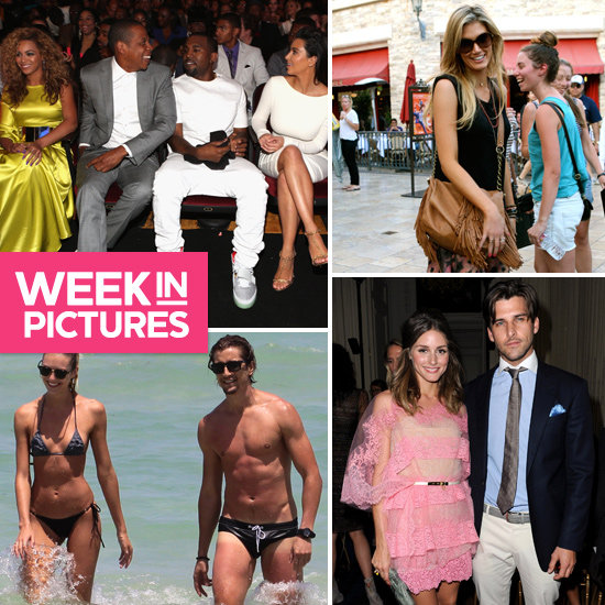 The Week in Pictures: Beyoncé, Jay-Z, Kanye & Kim Hang Out, the Stars at Paris Couture Fashion Week & More!
