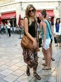 Delta Goodrem had lunch at The Grove in West Hollywood on July 2.