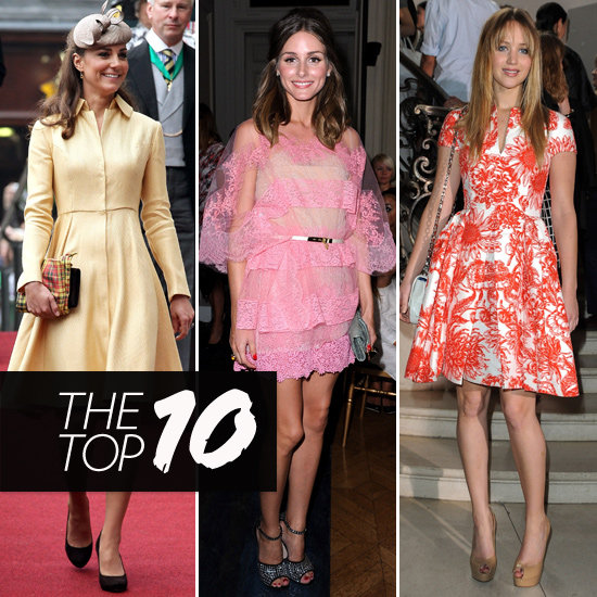 Top 10, Best Dressed of the Week: Jennifer Lawrence, Olivia Palermo, Kate Middleton & More