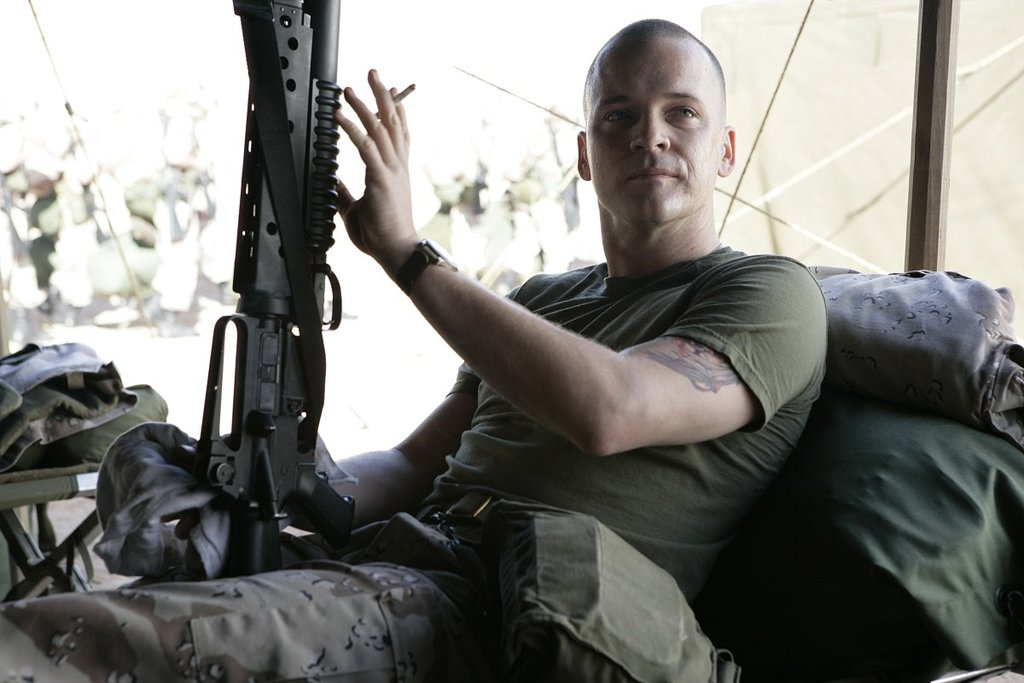 Peter Sarsgaard in Jarhead
