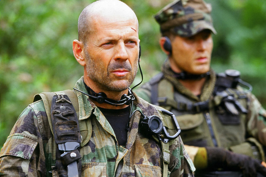 Bruce Willis in Tears of the Sun