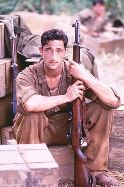 Adrien Brody in The Thin Red Line
