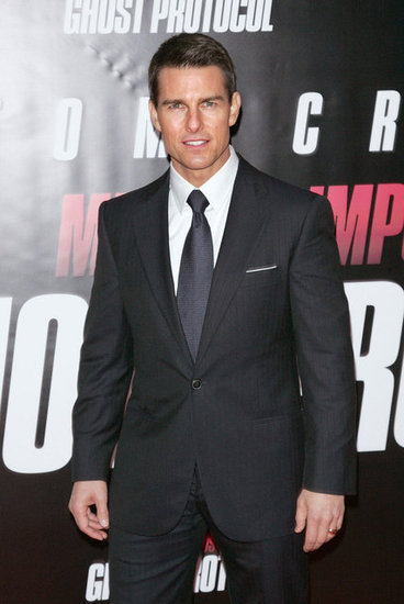 Tom Cruise was dapper in a suit for the Mission: Impossible 3 — Ghost Protocol premiere in NYC in December 2011.
