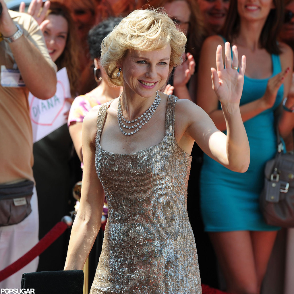 Naomi Watts bore a close resemblance to Princess Diana.