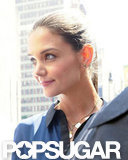 Katie Holmes Makes First Ringless Appearance Since Divorce Filing