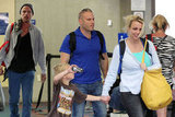 Britney Spears arrived in Maui, holding her son Jayden's hand while Jason Trawick followed behind.