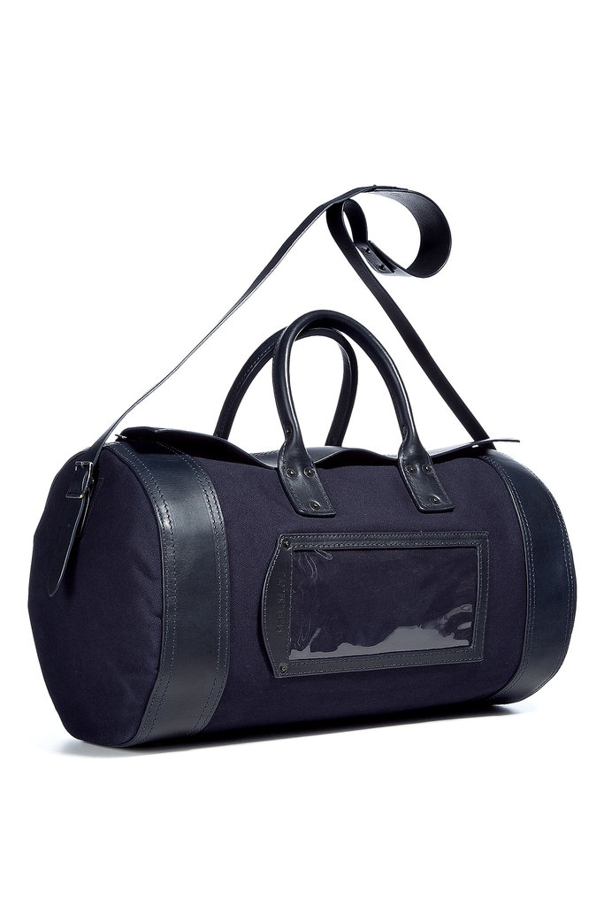 Vintage-Inspired Duffel Bag