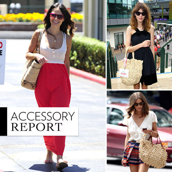 Jordana, Alexa, and More Prove the Power of a Straw Bag This Summer