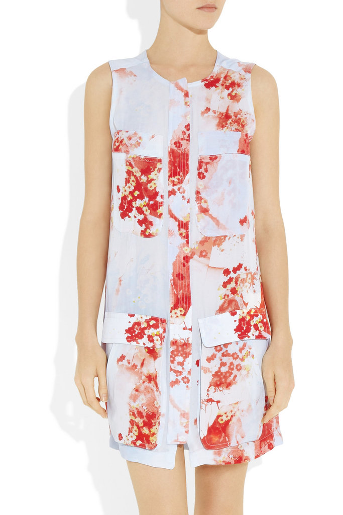 """With my Bali trip coming up, this printed dress is the perfect combination of vacation-ready and Summer sleek."" — Marisa Tom, associate editor A.L.C. Alida Floral-Print Silk-Crepe Dress ($595)"