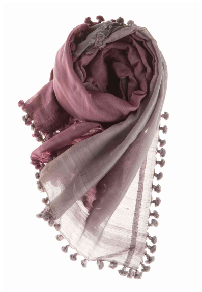 """A soft and fluttery scarf to layer with all my sundresses and take with me on Summer trips — Matta's scarf collection is unparalleled if you're looking for bohemian elegance."" — Noria Morales, style director  Matta NY Dupatta Ombre Scarf ($193)"