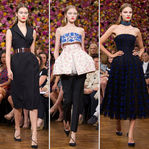Christian Dior bei der Paris Fashion Week Couture für Herbst 2012