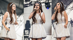 Lana Del Rey Styles up a Sweet Mini Dress on Stage