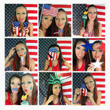 Printable Patriotic USA Photo Booth Props ($15)