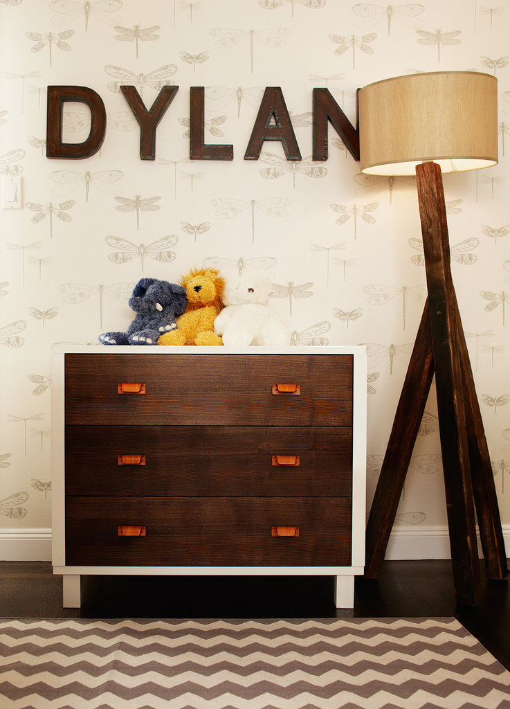 A Peek Inside Baby Dylan's Hip and Colorful Nursery