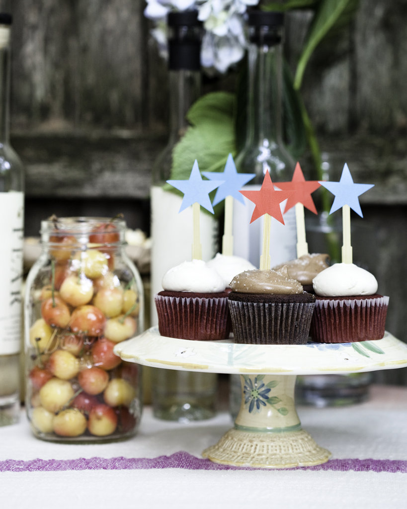 Star Cupcake Sticks