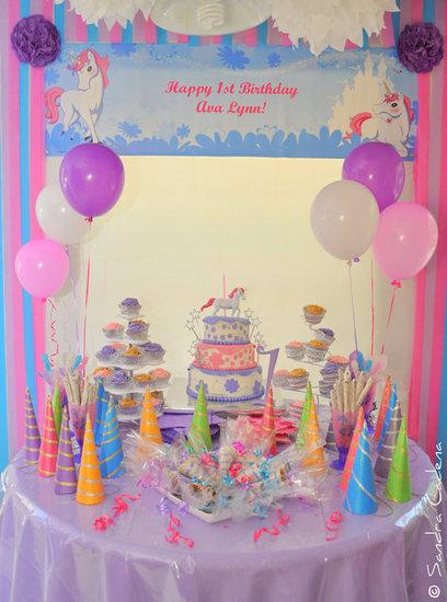 Ava Lynn's Birthday Party Table