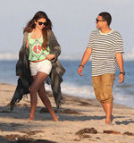 Selena Gomez goofed around with friends in Malibu.