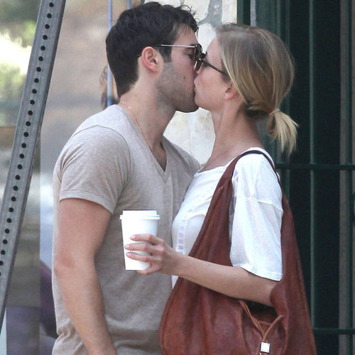 Revenge Costars Emily VanCamp and Joshua Bowman Kissing