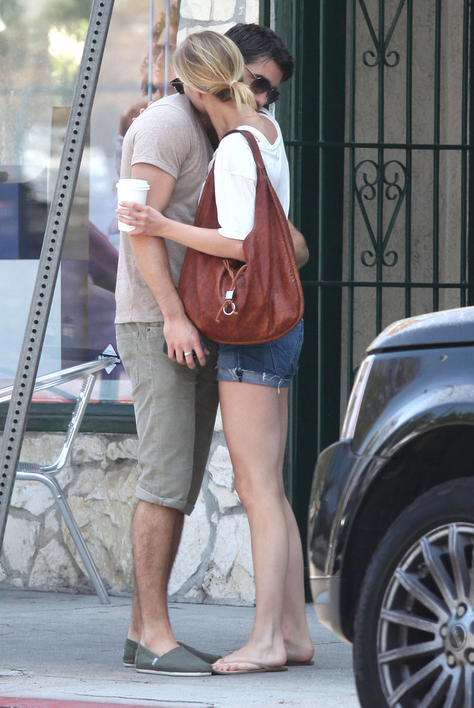 Emily VanCamp and Joshua Bowman shared a sweet moment in LA.
