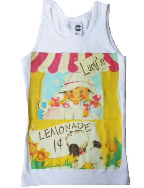 Personalized Lemonade T-Shirt ($18)