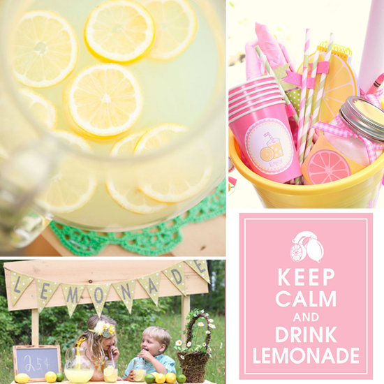 9 Items to Inspire Your Kids' Summer Lemonade Stand