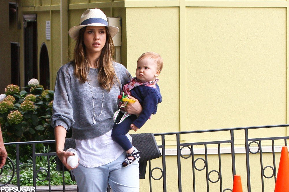 Jessica Alba spent the Fourth of July with Haven Warren and family.