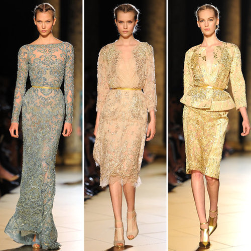 Elie Saab Couture Fall 2012 Collection Pictures