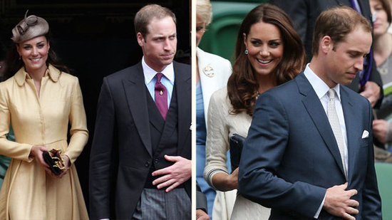 "Video: Kate Middleton Supports ""Knight"" William and Watches Wimbledon"