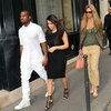 Kim Kardashian, Kanye West, Bar Refaeli in Paris Pictures